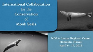 International Collaboration for the Conservation of Monk Seals